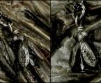 羽根には細かな彫刻【Beelzebub Necklace】