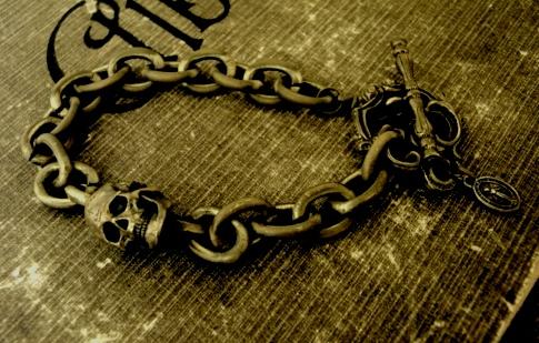 Madeleine Skull Bracelet