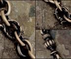3種類のポイントパーツ【Antique Shackle Keychain】