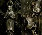 細かい彫刻が施されている【Faith Keychain】