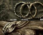 素材による色味の差【Bougeoir Ring】
