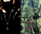 連結サンプルと着用画像【Front Mantel Rosary Necklace】