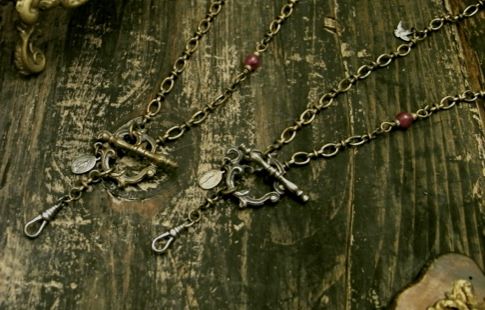 Front Mantel Rosary Necklace