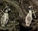 裏にはプレイングハンドの彫刻【Maria Necklace】