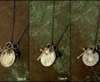 メダイは3種類。真鍮ハトメが良いアクセントに【Holy Medaille Necklace】