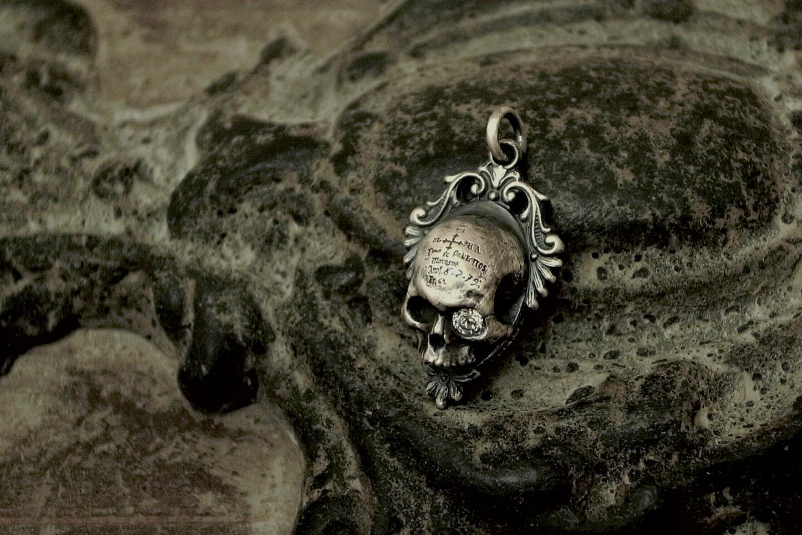 SILVER×CZ【Memento Medaille Pendant】
