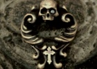 Rococo Amulet Brass Pendant