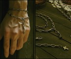着用画像【Double Roll Chain Bracelet】
