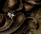 アンティークゴシックな雰囲気のシンプルなピアス【Antique Cross Pierce】