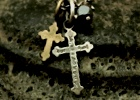 Admotition Cross Necklace