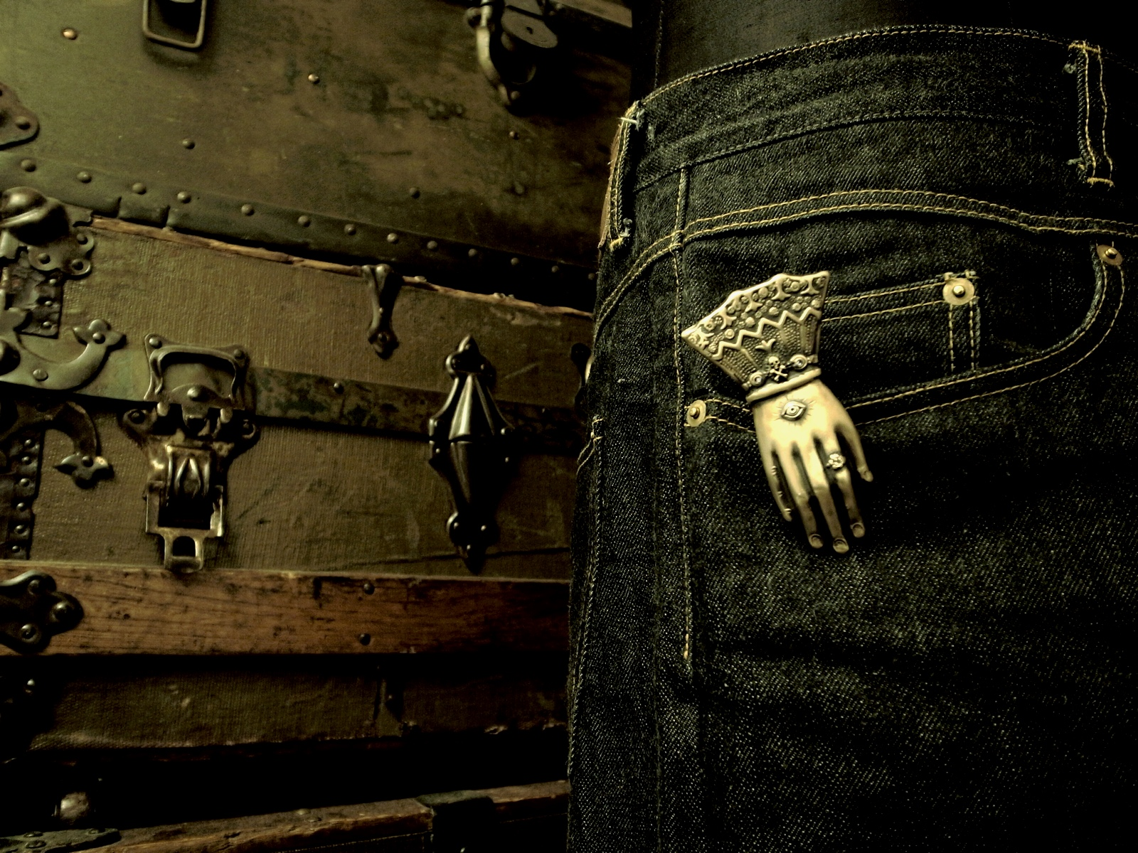 クリッピング例【Hand Clip Keyholder】