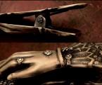 スプリングはステンレス製【Hand Clip Keyholder】