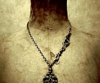 jd Orleans Necklace SILVER 50cm 着用画像