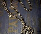 jd Orleans Necklace BRASS&BlackCZ