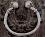 Antique Skull Bangle